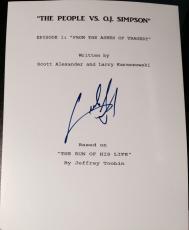 "Cuba Gooding Jr Signed Autograph ""people V Oj Simpson"" Pilot Episode Full Script"