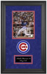 "Chicago Cubs Deluxe 8"" x 10"" Team Logo Frame - Mounted Memories"