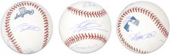 Greg Maddux, Mark Prior, Kerry Wood, Carlos Zambrano and Matt Clement Chicago Cubs 2004 Starting Rotation Autographed Baseball