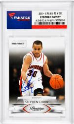 Stephen Curry Golden State Warriors Autographed 2009-2010 Panini #230 Rookie Card