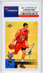 Stephen Curry Golden State Warriors Autographed 2009-10 Upper Deck #234 Rookie Card