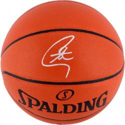 Stephen Curry Autographed Basketball - Golden State Warriors