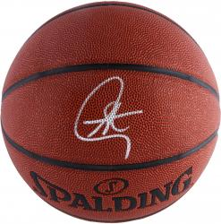 Stephen Curry Golden State Warriors Autographed Spalding Max Grip Basketball