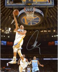 "Stephen Curry Golden State Warriors Autographed 8"" x 10"" Under Basket Photograph"