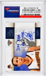 Stephen Curry Golden State Warriors Autographed 2009-10 Studio #129 Rookie Card with 2014 NBA All Star Inscription