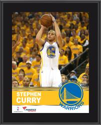 "Stephen Curry Golden State Warriors Sublimated 10.5"" x 13"" Plaque"