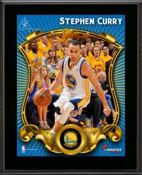 "Stephen Curry Golden State Warriors Sublimated 10.5"" x 13"" Stylized Plaque"