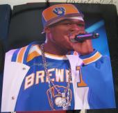 """Curtis Jackson """"50 Cent"""" Rapper Hip Hop Actor Signed Autographed 11x14 Photo Coa"""