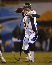 Jay Cutler Signed Photograph - 8x10 Mounted Memories