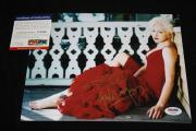 Cyndi Lauper signed 8 x 10, Time After Time, Girls Wanna Have Fun,PSA/DNA Z35999
