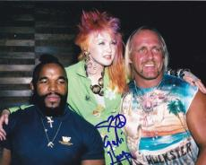Cyndi Lauper Signed 8x10 Photo Authentic Autograph Lgbt Goonies Wrestlemania C