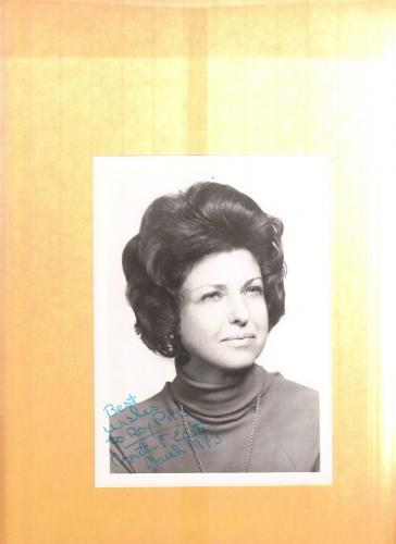 Cynthia F. Epstein-signed photo-17