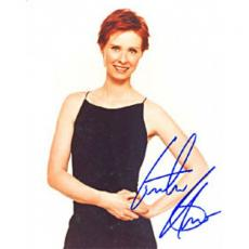Cynthia Nixon Autographed 8x10 Photo