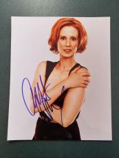 Cynthia Nixon autographed Photograph