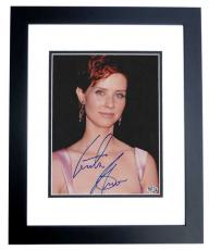 Cynthia Nixon Autographed SEX AND THE CITY 8x10 Photo BLACK CUSTOM FRAME