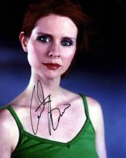 Cynthia Nixon Autographed Signed Pretty Photo & Proof    AFTAL