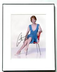 Cynthia Nixon Autographed Signed Sex and the City Photo   AFTAL