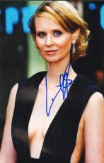 CYNTHIA NIXON (Sex in the City) signed 8x12 photo #2-JSA Guaranteed