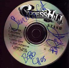 CYPRESS HILL Signed STASH Autographed CD-UACC RD    AFTAL