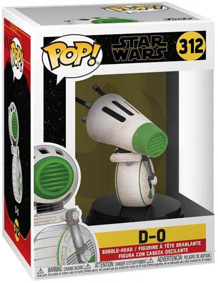 D-O Star Wars #312 Funko Pop! Figurine