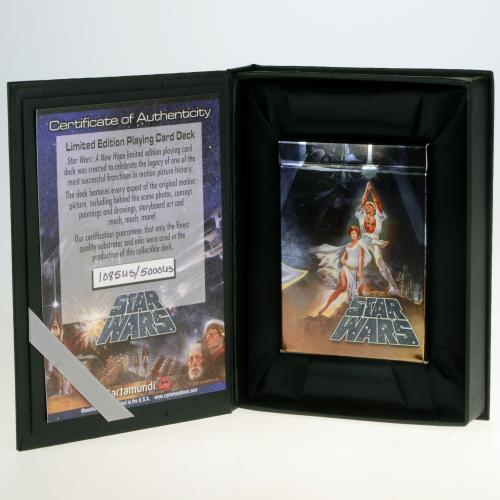 Star Wars 30th Anniversary Playing Card Deck - Limited Edition of 5,000 - Cartamundi