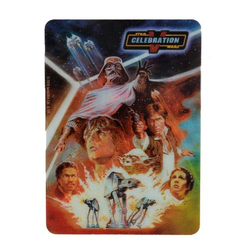 Star Wars Celebration V 3d Lenticular Playing Card Deck - Limited edition of 2,500 - Cartamundi