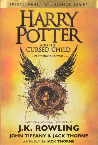 J.K. Rowling Autographed Harry Potter and the Cursed Child Book - PSA/DNA LOA
