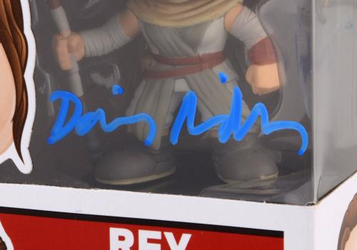 Daisy Ridley Autographed Star Wars The Force Awakens POP #58 FUNKO