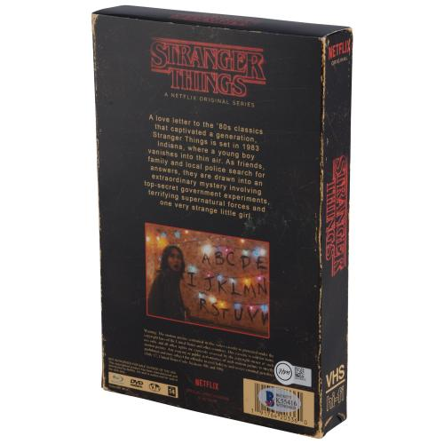 Millie Bobby Brown Stranger Things Autographed Season 1 Collector's Edition DVD  - BAS