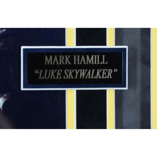 "Mark Hamill & Kenny Baker Star Wars Framed Autographed 35"" x 40"" Collage - BAS"