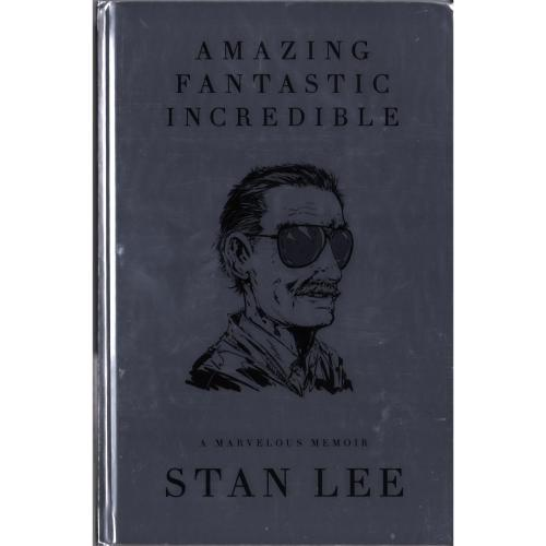 Stan Lee Marvel Autographed Deluxe Slipcase Book