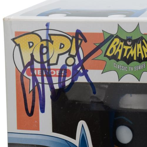 Adam West Batman Autographed #41 Batman Funko Pop! - JSA