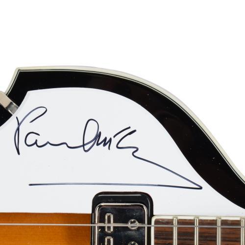 Paul McCartney The Beatles Autographed Electric Guitar - PSA/DNA