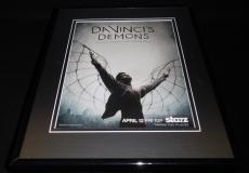 Da Vinci's Demons 2014 Framed 11x14 ORIGINAL Advertisement Starz