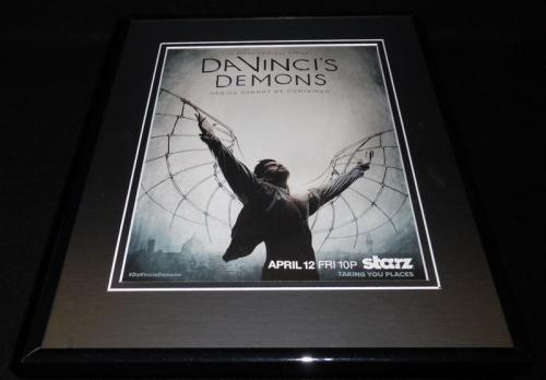 Da Vinci's Demons 2014 Framed 11x14 ORIGINAL Advertisement Starz
