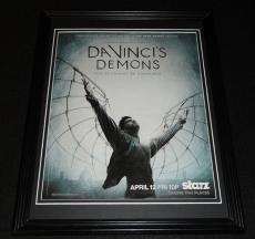 Da Vinci's Demons 2014 Framed 11x14 ORIGINAL Vintage Advertisement Starz