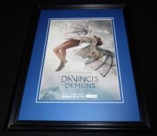 Da Vinci's Demons 2014 Starz Framed 11x14 ORIGINAL Vintage Advertisement