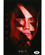 Dacre Montgomery Signed Power Rangers Autographed 8x10 Photo PSA/DNA #AC11891