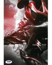 Dacre Montgomery Signed Power Rangers Autographed 8x10 Photo PSA/DNA #AC11892