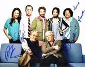 DADS Cast Autographed 11x14 inch Photo - Guaranteed to pass PSA or JSA - Signed by Seth Green, Giovanni Ribisi, Peter Riegert, Martin Mull, and Tonita Castro (Deceased 2016)