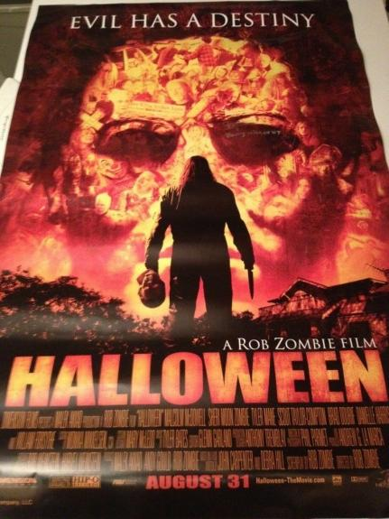 Signed Michael Myers Photo - Daeg Faerch Halloween Young Rare Movie Poster
