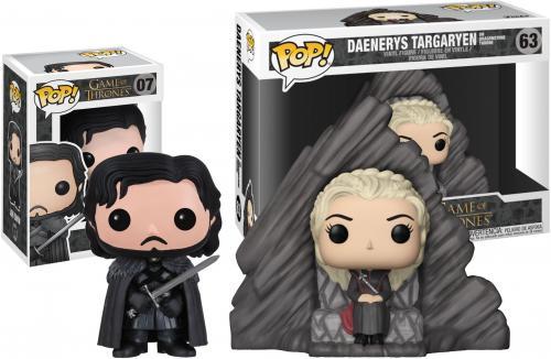 Daenerys Targaryen & Jon Snow Game of Thrones Funko Pop! Bundle