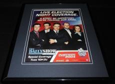 Daily Show 2004 Framed 11x14 ORIGINAL Vintage Advertisement Jon Stewart Colbert