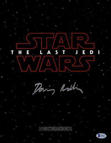 "Daisy Ridley Autographed 11"" x 14"" Star Wars The Last Jedi Photograph - Beckett"