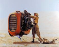Daisy Ridley Autographed 16X20 Photo Star Wars: The Force Awakens Rey JSA Z47220