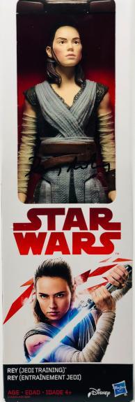 "Daisy Ridley Autographed Rey 12"" Inch Figurine Figurine Star Wars - BAS Beckett"