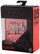 Daisy Ridley Autographed Star Wars The Force Awakens Reys Speeder Star Wars the Black Series Action Figure - PSA/DNA