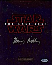 Daisy Ridley Autographed Star Wars The Last Jedi 8x10 Photo - Rey Beckett BAS