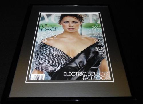 Daisy Ridley Framed 11x14 ORIGINAL 2017 Vogue Magazine Cover Star Wars