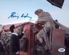 Daisy Ridley & Jj Abrams Dual Signed 8x10 Star Wars Photo Psa Aa58252